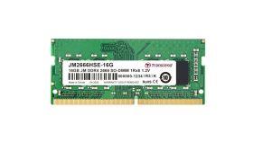 Transcend 16GB JM DDR4 2666Mhz SO-DIMM 1Rx8 2Gx8 CL19 1.2V