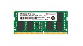 Transcend 16GB TS DDR4 2666Mhz SO-DIMM 2Rx8 1Gx8 CL19 1.2V