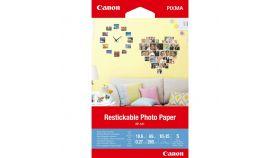 Canon Restickable Photo Paper RP-101, 10x15 cm, 5 sheets