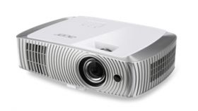 Acer Projector H7550ST, DLP, 1080p (1920x1080), 3'000Lm, 16000:1, 3D, Short Throw, HDMI, HDMI/MHL, VGA, RCA, S-Video, Audio in, Audio out, VGA out, 2D to 3D Conversion, AutoKeystone, Speakers 2x10W, DTS Sound, Bag, 3.4 Kg