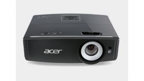 """Acer Projector P6500, DLP, 1080p (1920x1080), 20000:1, 5000 ANSI Lumens, 3D, HDMI, HDMI/MHL , VGA x2, RCA, 3 RCA, S-Video, Mic In, Audio in x2, Speakers 2x10W, LAN, Vertical Lens Shift, 4 Corner Correction, Bag, 4.5kg, Black+ Acer T82-W01MW 82.5"""" (16"""