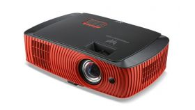 Acer Projector Predator Z650, DLP 3D, 1080p (1920x1080), 2200 ANSI Lumens, 20000:1, HDMI, VGA, RCA, S-Video, BT3.0, 3D Glasses, Speakers 2x10W DTS, Bag, 3.4Kg + Acer M90-W01MG Projection Screen 90'' (16:9) Wall & Ceiling Gray Manual