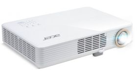 """Acer Projector PD1520i, LED,1080p (1920x1080), 3000 ANSI Lm, 1000000:1,  HDMI/MHL, VGA in, PC Audio, DC out(5V/1A USB Type A), USB Type A included wireless dongle, 360-degree projection, Slim and Compact 2.2kg, White + Acer T82-W01MW 82.5"""" (16:10)"""