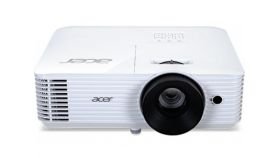 Acer Projector X118HP, DLP, SVGA (800x600), 4000 ANSI Lumens, 20000:1, 3D, HDMI, VGA, RCA, Audio in, DC Out (5V/2A, USB-A), Speaker 3W, Bluelight Shield, Sealed Optical Engine, LumiSense, 2.7kg, White
