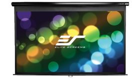 "Elite Screen M100UWH Manual, 100"" (16:9), 221.0 x 124.5 cm, Black"