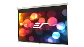 "Elite Screen M106XWH Manual, 106"" (16:9), 234.7 x 132.1 cm, White"