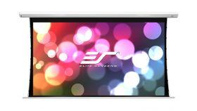 "Elite Screen SK200XHW2 Saker Motorleinwand Premium, 200"" (16:9), 442.7 x 248.9 cm, White"