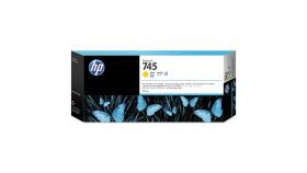 HP 745 300-ml Yellow Ink Cartridge