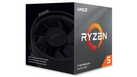 AMD Ryzen 5 3600XT Processor 6C/12T 35MB Cache 4.5GHz Max Boost – With Wraith Spire Cooler