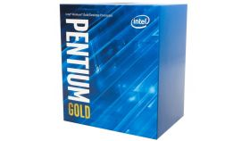 Intel CPU Desktop Pentium G6400 (4.0GHz, 4MB, LGA1200) box