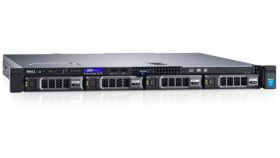 Dell PowerEdge R230, Intel Xeon E3-1230v6 (3.5GHz, 8M), 8GB 2400 UDIMM, 1TB SATA, PERC H330, Chassis with up to 4, 3.5 Cabled Hard Drives, DVD+/-RW, iDRAC8 Basic, 3Y NBD