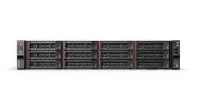 "Lenovo ThinkSystem SR590, Xeon Silver 4110 (8C 2.1GHz 11MB Cache/85W), 16GB (1x 16GB (2Rx8) RDIMM DDR4-2666), 3x600GB 10k SAS, O/B SAS/SATA HS 2.5""(8), 930-8i, 2x750W, XCC Advanced, Tooless Rails, Front VGA, 3 Year warranty (Next Business Day Onsite)"