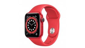 Apple Watch S6 GPS, 40mm PRODUCT(RED) Aluminium Case with PRODUCT(RED) Sport Band - Regular