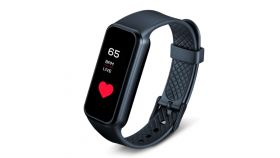 Beurer AS 99 Pulse Bluetooth activity sensor, Pulse measurement, Notifications via calls, SMS & messages, touchscreen, Activity and sleep tracking, Memory capacity for 15 days/15 nights, Move reminder / stopwatch, Waterproof, Li-ion battery, Compatib