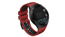 Huawei GT2e,Hector-B19R 42mm, 1,39 инча AMOLED 454 x 454 HD, 4GB,GPS,Bluetooth5.1, Lava Red