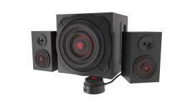 Genesis Speakers Helium 610BT 60W Rms 2.1 Black Wired Remote Control