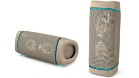 Sony SRS-XB33 Portable Bluetooth Speaker, taupe