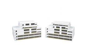 CISCO CBS350 Managed 16-port GE PoE 2x1G SFP