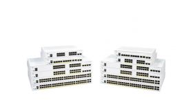 CISCO CBS350 Managed 8-port GE PoE Ext PS 2x1G Combo