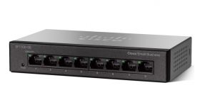 Cisco SF110D-08 8-Port 10/100 Desktop Switch