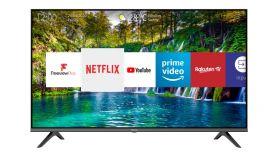 "Hisense 32"" A5600F, HD 1366x768, LED, Smart TV, WiFi, 2xHDMI, 2xUSB, LAN, DVB-T2/C/S2, Black"