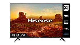 "Hisense 50"" A7100F, 4K Ultra HD 3840x2160, LED, HDR, Smart TV, WiFi, BT, 3xHDMI, 2xUSB, LAN, DVB-T2/C/S2, Black"