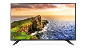 """LG 32LV300C, 32"""" LED HD TV, 1366x768, DVB-T2/C, 200cd/m2, Hotel Mode, USB Cloning, HDMI, RS-232C, 2 Pole Stand, Black"""