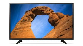 "LG 43LK5100PLA, 43"" LED HD TV, 1920x1080, Dynamic Colour, Resolution Upscaler, DVB-T2/C/S2, HDMI, CI, LAN, USB, 2 Pole Stand, Black"
