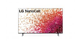 """LG 43NANO753PR, 43"""" 4K IPS HDR Smart Nano Cell TV, 3840x2160, DVB-T2/C/S2, Active HDR ,HDR 10 PRO, webOS Smart TV, ThinQ AI, WiFi, Clear Voice, Bluetooth, Miracast / AirPlay, Two Pole stand, Black"""