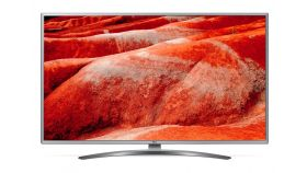"LG 43UM7600PLB, 43"" 4K UltraHD TV, IPS 4K Display 3840 x 2160, Cinema Screen, DVB-T2/C/S2, Smart webOS ThinQ AI, WiFi 802.11ac, 4K Active HDR, HDMI 4К/2К, DTS Vitrual:X, CI, LAN, USB, WIDI, Bluetooth, Steel silver"