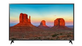 "LG 49UK6300MLB, 49"" 4K UltraHD TV, IPS 4K Display 3840 x 2160, DVB-T2/C/S2, Smart webOS 4.0,ThinQ AI, WiFi 802.11ac, 4КActive HDR,HDMI, Simplink,CI, LAN, WIDI, Miracast, USB, Bluetooth, 2 Pole Stand, Black"