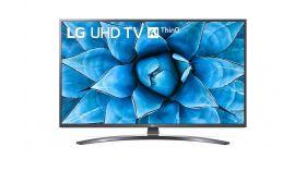 "LG 49UN74003LB, 49"" 4K IPS UltraHD TV 3840 x 2160, DVB-T2/C/S2, webOS Smart TV, ThinQ AI, Quad Core Processor 4K, WiFi 802.11ac, HDR10 PRO 4K/2K, AI Sound, Voice Controll, Miracast / AirPlay 2, HDMI, CI, LAN, USB, Bluetooth, Crecent Stand, Dark Iron"