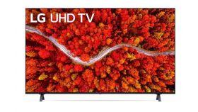 "LG 50UP80003LR, 50"" 4K IPS UltraHD TV 3840 x 2160, DVB-T2/C/S2, webOS Smart TV, ThinQ AI, Quad Core Processor 4K, WiFi 802.11ac, HDR10, HLG, ALLM / HGiG,  AI Sound, Voice Controll, Wi-Di, Miracast / AirPlay 2,  HDMI, CI, LAN, USB, Bluetooth, 2 pole S"