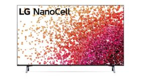 """LG 55NANO753PR, 55"""" 4K IPS HDR Smart Nano Cell TV, 3840x2160, DVB-T2/C/S2, Active HDR ,HDR 10 PRO, webOS Smart TV, ThinQ AI, WiFi, Clear Voice, Bluetooth, Miracast / AirPlay, Two Pole stand, Black"""