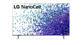 """LG 55NANO773PA, 55"""" 4K IPS HDR Smart Nano Cell TV, 3840x2160, 200Hz, DVB-T2/C/S2, Active HDR ,HDR 10 PRO, webOS Smart TV, ThinQ AI, WiFi, Clear Voice, Bluetooth, Miracast / AirPlay, Two Pole stand, Silver"""