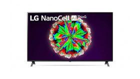 "LG 55NANO803NA, 55"" 4K IPS HDR Smart Nano Cell TV, 3840x2160, 200Hz, DVB-T2/C/S2, Quad Core Processor 4K, Cinema HDR, webOS ThinQ, AI functions, FreeSync, WiFi 802.11.ac, Voice Controll, Bluetooth 5.0, Miracast / AirPlay 2, 2 pole stand"