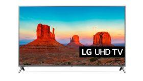 "LG 55UK6500MLA, 55""  4K UltraHD TV,3840 x 2160, DVB-T2/C/S2, Smart webOS 4.0,Ultra Surround,WiFi 802.11ac, 4КActive HDR,HDMI, Simplink,CI, LAN, DLNA,WIDI, Miracast, USB, Bluetooth,2 Pole Stand, Silver"