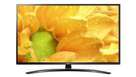 "LG 55UM7450PLA, 55"" 4K UltraHD TV, IPS 4K Display 3840 x 2160,Cinema Screen, DVB-T2/C/S2, Smart webOS ThinQ AI, Magic Remote, WiFi 802.11ac, 4КActive HDR, HDMI 4К/2К, Simplink,CI, LAN, USB, WIDI, Bluetooth, Crescent Stand, Ceramic Black"