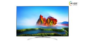 """LG 60SJ850V, 60"""" SUPER UHD ELED 3840x2160, DVB-T2/C/S2, 3200PMI, Cinema Screen, Nano Cell, Active HDR Dolby Vision, 360 VR, Smart webOS 3.5, Ultra Luminance, Advamced Local Dimming, WiDi, WiFi 802.11.ac, Bluetooth, Miracast, DLNA, LAN, CI, HDMI, USB,"""
