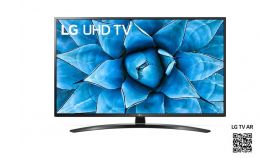 "LG 70UN74003LA, 70"" 4K UltraHD Smart TV 3840 x 2160, DVB-T2/C/S2, webOS Smart TV, ThinQ AI, Quad Core Processor 4K, WiFi 802.11ac, HDR10 PRO 4K/2K, Ultra Surround, Miracast / AirPlay, HDMI, CI, LAN, USB, Bluetooth, Crecent Stand, Black"