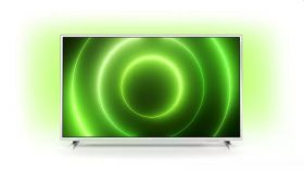 """Philips 32PUS6906/12, 32"""" FHD LED 1920x1080, DVB-T2/C/S2, Ambilight 3, HDR10+, HLG, Android 10, Dolby Vision, Dolby Atmos, Quad Core, BT 5.0, HDMI, USB, Cl+, 802.11n, Lan, 16W RMS, Silver"""