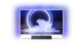 """Philips 43PUS9235/12, 43"""" (108 cm), UHD 4K LED 3840 x 2160, Android OS, 3 side Ambilight, BT, Wifi a/c, LAN,  Bowers & Wilkins audio 2.1 40W RMS, Grey"""