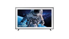 """Samsung 55"""" 55LS03 The Frame QLED 4K Smart TV, 3400 PQI, Quantum HDR, HDR 10+, Bixby, Wi-Fi, Bluetooth, 4xHDMI, 2xUSB, Tizen, Charcoal Black"""