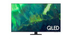 Samsung 65'' 65Q70A QLED FLAT, SMART, 3400 PQI, Dual LED, Micro Dimming, Quantum HDR, HDR 10+, Dolby Digital Plus, Q-Symphony, Bixby, Bluetooth 4.2, Wi-Fi, 4xHDMI, 2xUSB, Frameless, Tizen, Titanium Gray