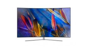 "Samsung 65"" 65Q7CAM 4K QLED CURVED, SMART, 3200 PQI, QHDR, Quad-Core, DVB-T2CS2 x 2, Wireless, Network, PIP, 4xHDMI, 3xUSB, Sterling Silver"