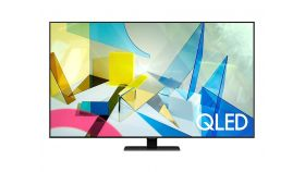 "Samsung 65"" 65Q80T QLED FLAT, SMART, 3800 PQI, Dual LED, Direct Full Array 8x, Quantum HDR, HDR 10+, Dolby Digital Plus, Dolby 5.1 Decoder, Bixby, Bluetooth, 4xHDMI, 2xUSB, Frameless, Tizen, Carbon Silver"