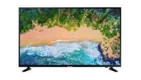 "Samsung 43"" 43NU7092 4K LED TV, SMART, 1300 PQI, HDR, QuadCore, DVB-TC(T2 Ready), WI-FI, PIP, 3xHDMI, 2xUSB, Black"