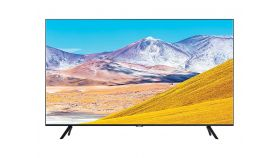 "Samsung 43"" 43TU8072 4K 3840 x 2160 UHD LED TV, SMART, 2100 PQI, HDR 10+, Crystal Processor 4K, Dolby Digital Plus, Bixby, AirPlay 2, DLNA, DVB-T2CS2, WI-FI, 3xHDMI, 2xUSB, Tizen, Frameless, Black"