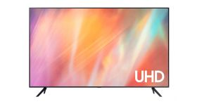 "Samsung 55"" 55AU7172 4K UHD LED TV, SMART, Crystal Processor 4K, 2200 PQI, HDR 10+, Mega Contrast, Dolby Digital Plus, Q-Symphony, 3xHDMI, 2xUSB, WiFi, Bluetooth, Tizen, Black"