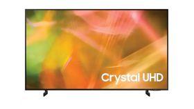 "Samsung 55"" 55AU8072 4K UHD LED TV, SMART, Crystal Processor 4K, 2200 PQI, HDR 10+, Mega Contrast, Dolby Digital Plus , 4xHDMI, 2xUSB, WiFi, Bluetooth 4.2, Tizen, Dark Gray"